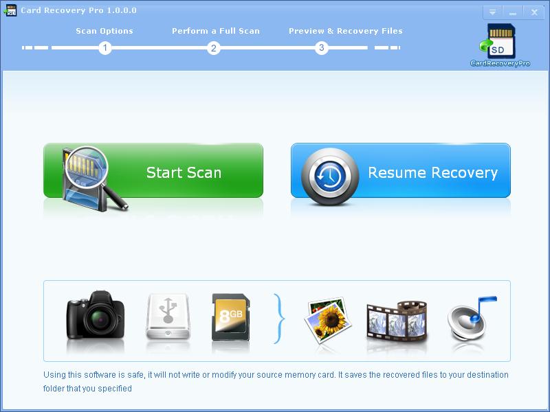 CardRecoveryPro full screenshot